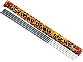 Zimne ognie 55cm E7023 - 60 sztuk (15 opakowań)