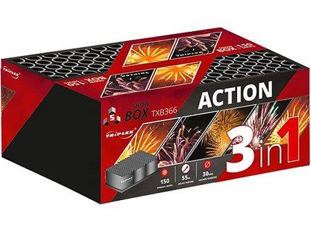 "Action TXB366 - 150 strzałów 1.2"""