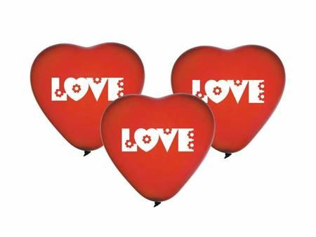 "Balony Premium ""Love"", serca / 5 szt. CRS/P149"