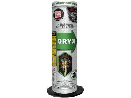 """Bateria rzymskich ognii GREEN LINE """"Oryx"""" PXO206 - 100 strzałów"""