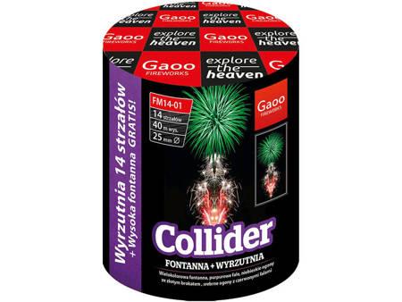 """Collider FM14-01I - 14 strzałów 1"""" + fontanna"""