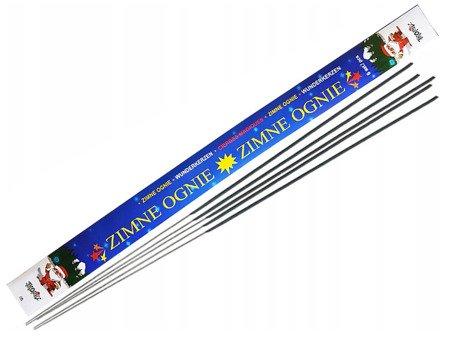 Długie Zimne Ognie 70cm ZO70 - 5 sztuk