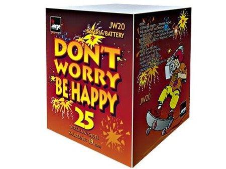 """Don`t Worry Be Happy JW20 - 25 strzałów 0.8"""""""