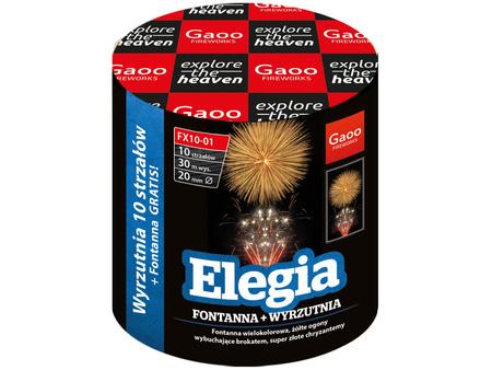 """Elegia FX10-01I - 10 strzałów 0.8"""" + fontanna"""