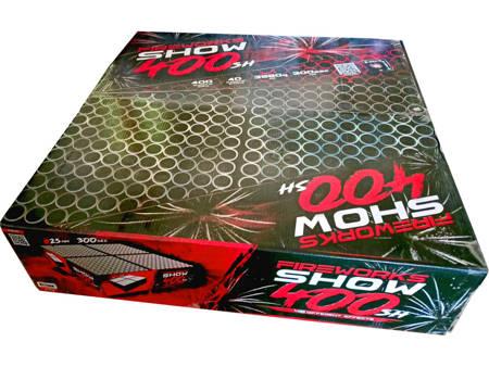 """Fireworks Show 400 C40025F/C - 400 strzałów 1"""""""