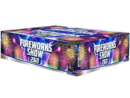 """Fireworks show 260 C26020F/C - 260 strzałów 0.8"""""""