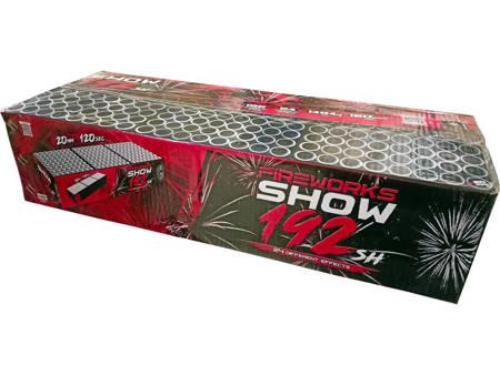 """Fireworks show C19220F/C - 192 strzały 0.8"""""""