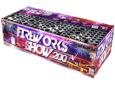 Fireworks show C200MF/C - 200 strzałów MIX