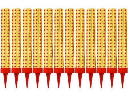 Fontanny tortowe 12cm I00061 - 12 sztuk