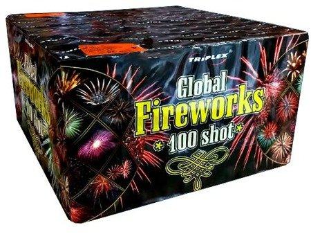 """Global Fireworks TXB112 - 100 strzałów 1"""""""
