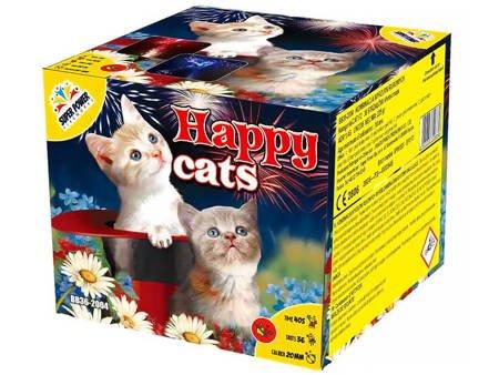"""Happy Cats BB36-2004 - 36 strzałow 0.8"""""""