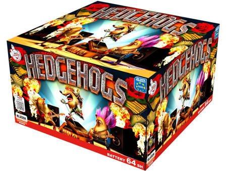"""Hedgehogs C6420H - 64 strzałów 0.8"""""""
