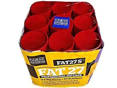 "Kasak Extreme FAT27-01S - 27 strzałów 0.8"" (9 serii Big Bang)"