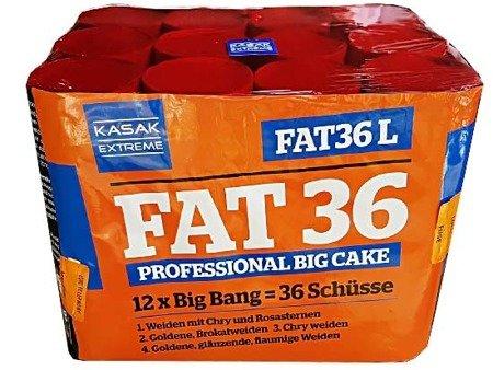 "Kasak Extreme FAT36-01L  - 36 strzałów 1.2"" (12 serii Big Bang)"