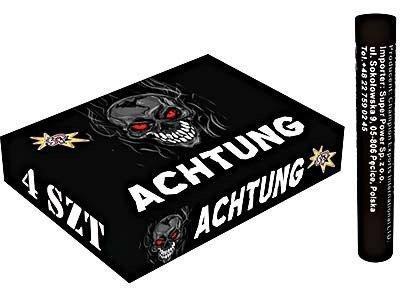Petardy hukowe Achtung C1500 - 4 sztuki