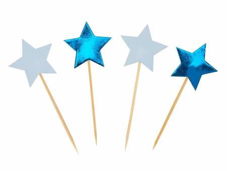 Pikery do muffinek Little Star Blue, 20 szt 775547