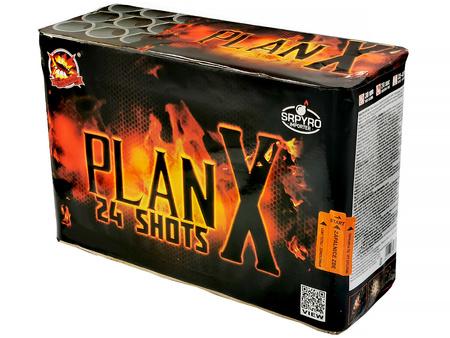 "Plan X CLE4076 - 24 strzały 38mm 1.5"""