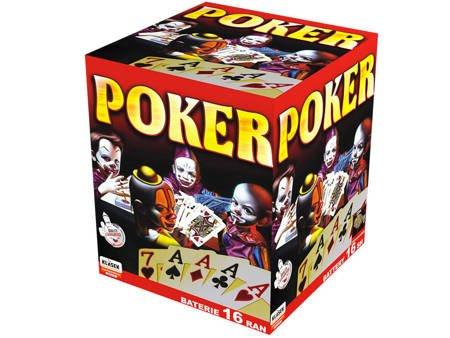 """Poker C1625F - 16 strzałów 1"""""""