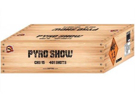 """Pyroshow 274R CLE4529 - 274 strzałów 0.8"""""""
