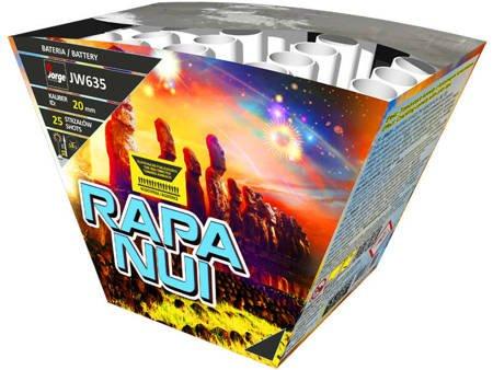 """Rapa Nui JW635 - 25 strzałów 0.8"""""""