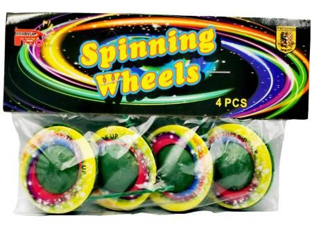 Spinning Wheels PS-F1-S001 - 4 sztuki