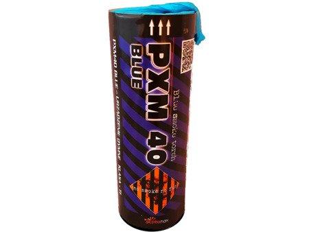 Świeca dymna PXM40 - niebieski (JFS-2)