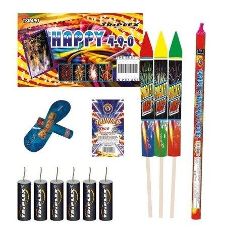 Zestaw Happy 4-9-0 TXR490