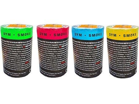 Zestaw kolorowych świec dymnych TF22