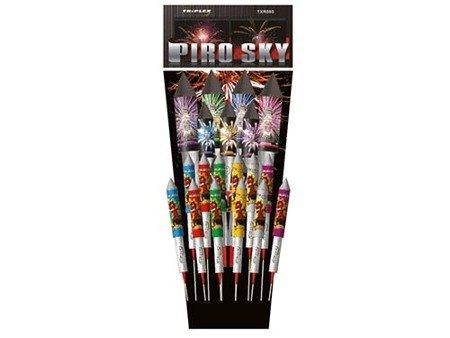 Zestaw rakiet Piro Sky TXR085