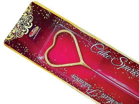 Zimny Ogień Serce (Cake Sparkler) VP12TS